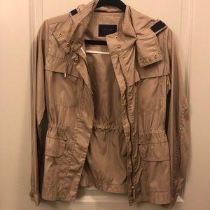 Zara XS Tan Zip Jacket